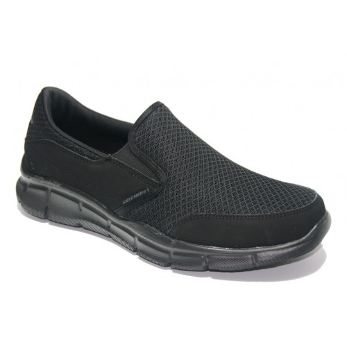 Zapatillas camping negras Skechers Gowalk, modelo 51361.
