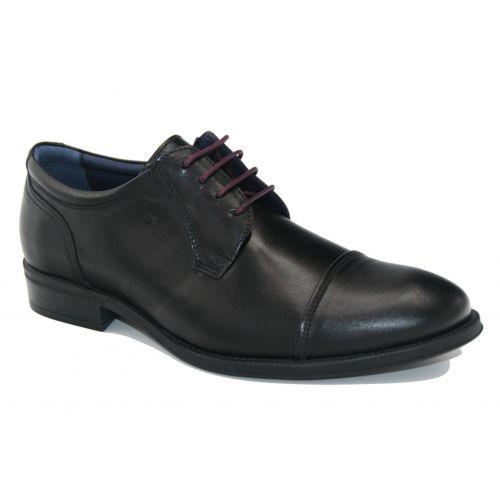 Zapato cordón vestir Fluchos 8412 negro