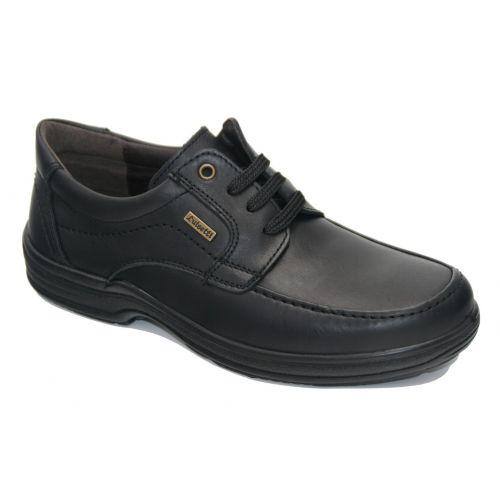 Zapato cordones negro Luisetti 20401