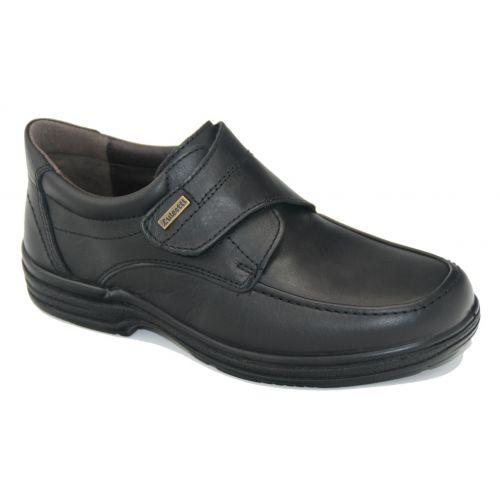 Zapato con velcro en negro Luisetti 20412