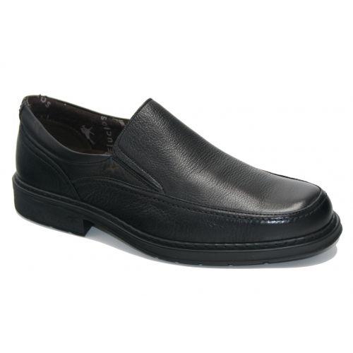 Fluchos 9578 mocasín goma negro